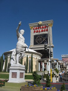 The Caesars Place Casino in Las Vegas