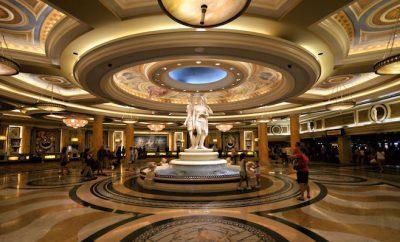 caesars lobby