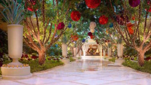 sculptured gardens in las vegas